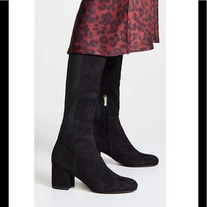 NEW Sam Edelman Valda Suede knee high boots sz 7.5